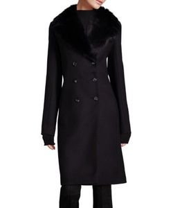 The Row   Roza Double Breasted Coat