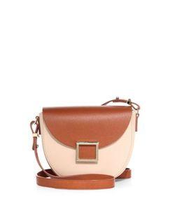 Jason Wu | Mini Jaime Two-Tone Leather Saddle Bag
