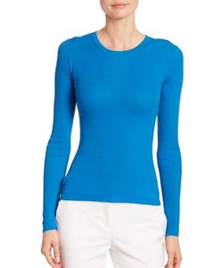 Michael Kors Collection | Featherweight Cashmere Crewneck Sweater