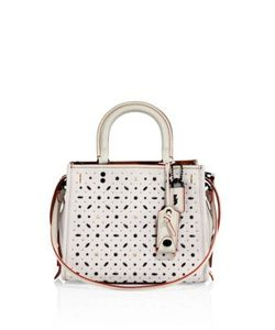 Coach | Rivets Rogue Small Leather Tote