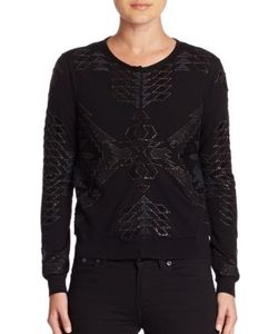 Ralph Lauren Collection | Beaded Wool Cardigan