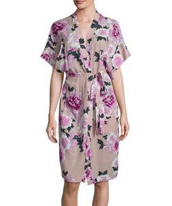 Fleur Du Mal | Printed Silk Robe