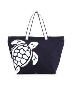 Vilebrequin | Turtle Logo Canvas Tote Bag