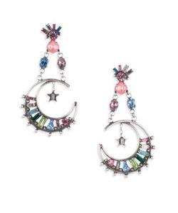 Dannijo | Grianne Crystal Drop Earrings