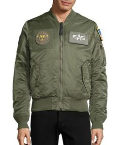 Alpha Industries | Slim-Fit Bomber Jacket