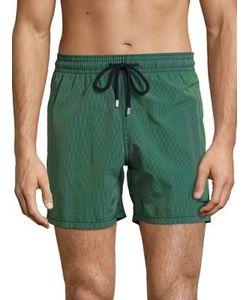 Vilebrequin | Morio Micro Striped Drawstring Swim Shorts
