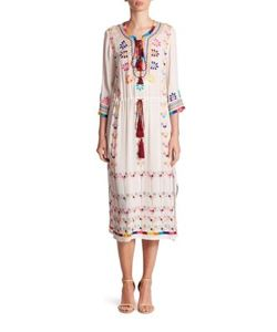 Figue   Heidi Embroidered Dress