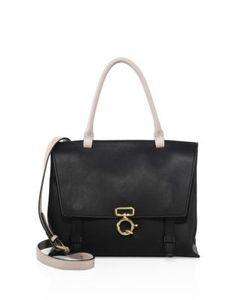 Derek Lam 10 Crosby   Soft Ave Colorblock Leather Crossbody Bag