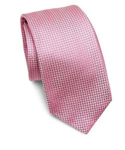 Kiton | Basketweave Silk Tie