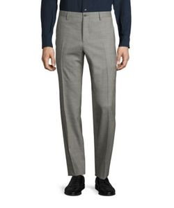 Salvatore Ferragamo | Wool Textured Pants