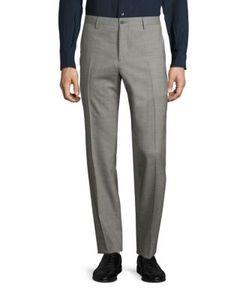 Salvatore Ferragamo   Wool Textured Pants