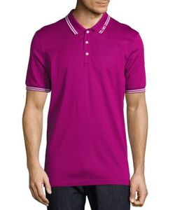 Salvatore Ferragamo | Contrast Trim Polo Shirt