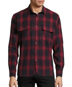 Ovadia & Sons | Oversized Plaid Shirt
