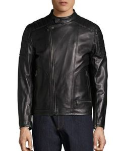 Salvatore Ferragamo | Moto Style Leather Jacket