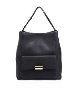 Salvatore Ferragamo | Bessie Leather Hobo Bag