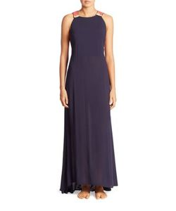 Ondademar | Miranda Solids Beaded Gown Coverup