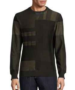 Salvatore Ferragamo | Graphic Print Cashmere Blend Sweatshirt