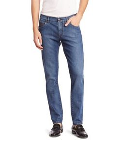 Salvatore Ferragamo   Stretch Straight-Fit Jeans