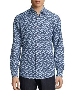 Salvatore Ferragamo | Motorcycle Printed Shirt