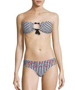 Ondademar | Miranda Ciranda Striped Bikini Top