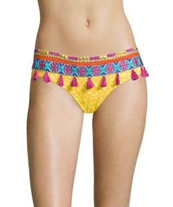 Ondademar | Miranda Limoncello Tassel Bikini Bottom