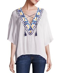 Piper | Java Lace-Up Top