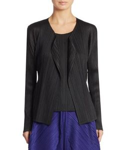Pleats Please By Issey Miyake | Basic Pleated Cardigan