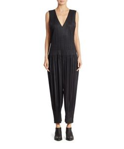 Pleats Please By Issey Miyake | Fluffy Basic Jumpsuit