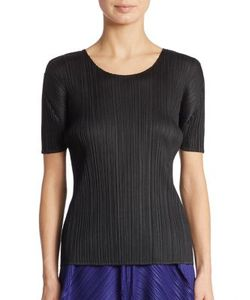 Pleats Please By Issey Miyake | Basic Pleated Tee