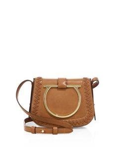 Salvatore Ferragamo | Sabine Leather Saddle Bag