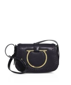 Salvatore Ferragamo | Sabine Leather Saddle Bag