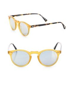 Oliver Peoples | Gregory Peck 47mm Round Sunglasses