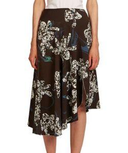 Cédric Charlier | Asymmetric Orchid Skirt