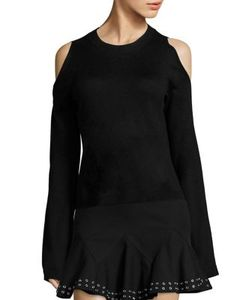 Derek Lam 10 Crosby   Bell Sleeve Silk Cashmere Blend Sweater