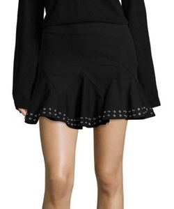 Derek Lam 10 Crosby   Flared Mini Skirt