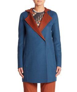 Akris | James Reversible Hooded Cashmere Coat