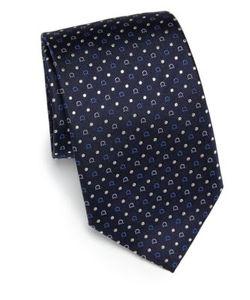 Salvatore Ferragamo | Dotted Silk Tie