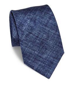 Brioni | Washed Silk Tie
