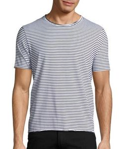 Ovadia & Sons | Raw Edge Stripe Tee