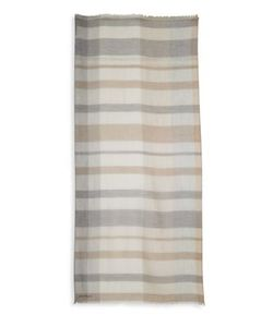 Salvatore Ferragamo | Striped Cashmere Scarf
