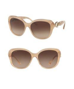 BVLGARI | 57mm Square Sunglasses
