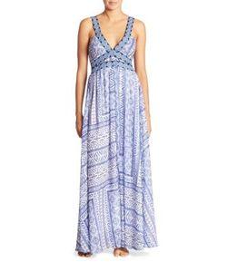 Ondademar | Miranda Turquish Printed Gown Coverup