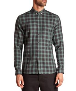 Public School | Plaid Button-Down Shirt