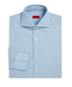 Isaia | Heathered Regular-Fit Dress Shirt