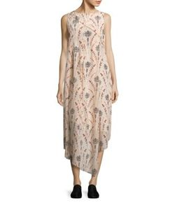 Creatures Of The Wind | Drew Floral Silk Dress