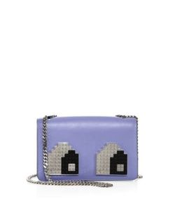 Les Petits Joueurs | Mini Janis Eyes Leather Chain Shoulder Bag
