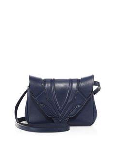 Elena Ghisellini | Felix Sensua Small Leather Crossbody Bag