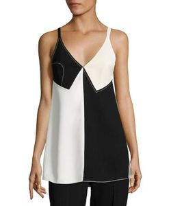 Derek Lam | Sleeveless Colorblock Top