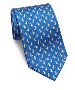 Salvatore Ferragamo | Mailbird Print Silk Tie