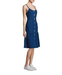 Suno | A-Line Denim Dress